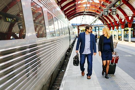 Service de transport privé avec passagers et bagages vers la Gare d'Arras